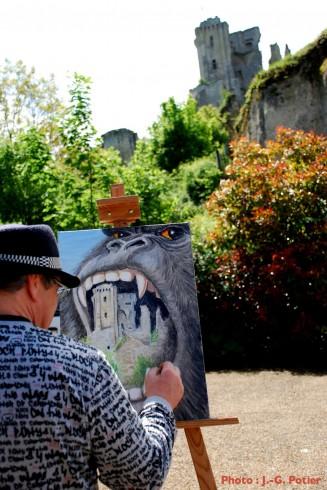 Journée des peintres à Lavardin - 14 mai 2015