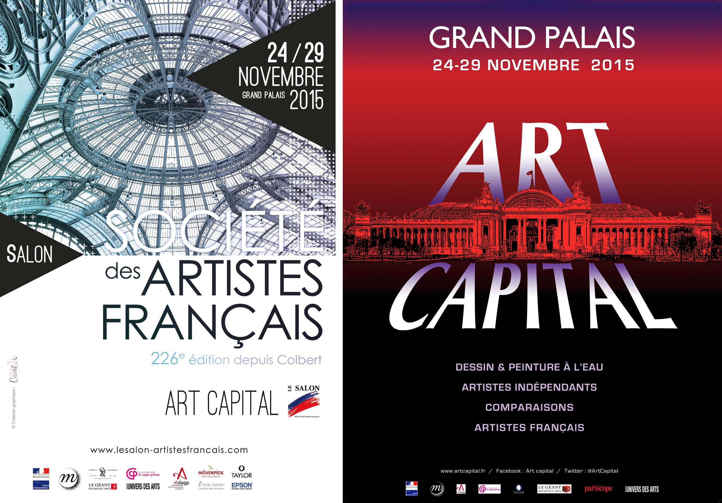 Salon des artistes fran ais au grand palais beno t d chelle - Salon des seniors paris invitation ...