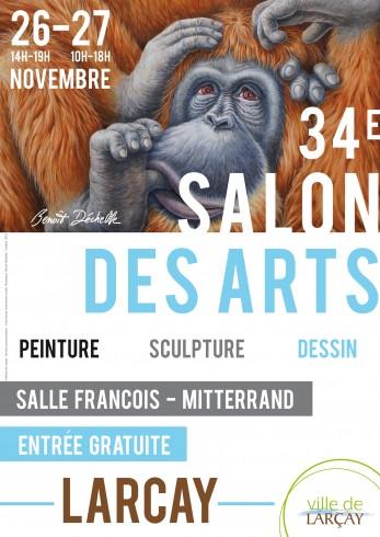 affiche-salon-des-arts-larcay-2016