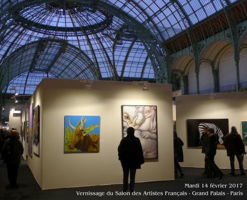Salon des Artistes Français du 15 au 19 décembre 2017 au Grand Palais - Paris