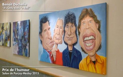 It's Only Rock 'n Roll – Acrylique sur toile – 146 x 89 cm